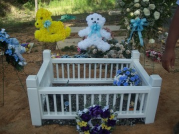 Noah Caiden Brown, son of Cassie Sheffied, died from a blood clot after two weeks of life